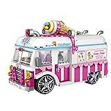 LOZ Furgoneta heladería. VW Combi. Modelo a Escala con minibloques...