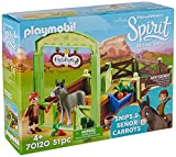 Playmobil - Establo Trasqui y Señor Zanahoria Juego con Accesorios, Multicolor (70120)