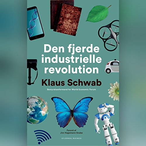 Den fjerde industrielle revolution audiobook cover art