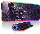 Alfombrillas de ratón Juegos RGB Grandes Anime Primera Línea...