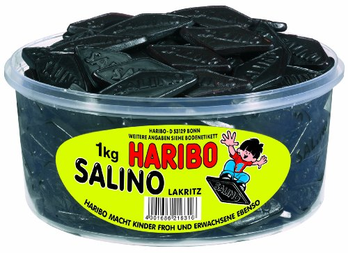 HARIBO - Salino Lakritz - Salmiak - Box mit 150 Stück