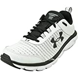 Under Armour mens Charged Assert 8 Running Shoe, White (102 White, 9 US