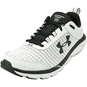 Under Armour mens Charged Assert 8 Running Shoe White  102 White 11.5 US