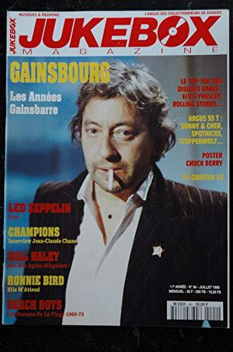 JUKEBOX 94 * 1995 * GAINSBOURG LED ZEPPELIN BILL HALEY Ronnie BIRD BEACH BOYS