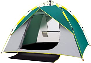 テント ワンタッチテント 3~4 人用 サンシェードテント テント キャンプ タープ ポップアップ ダブルドア メッシュスクリーン付 大空間 軽量 防水 設営簡単 海 花見 運動会 公園 防災用