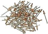 Remaches Blinky de cobre. 200 unidades