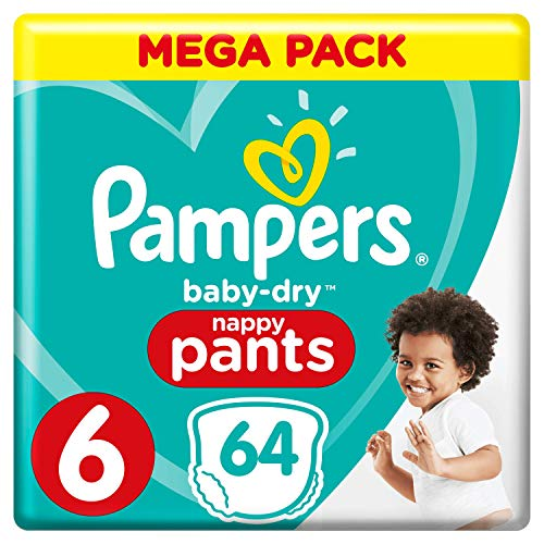 Pampers 81666882 Baby-Dry Pants windelhose, weiß