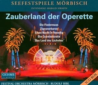 Zauberland der Operette -- Die Fledermaus / Der Zigeunerbaron / Eine Nacht in Venedig / Czardasfurstin / Das Land des Lacheln
