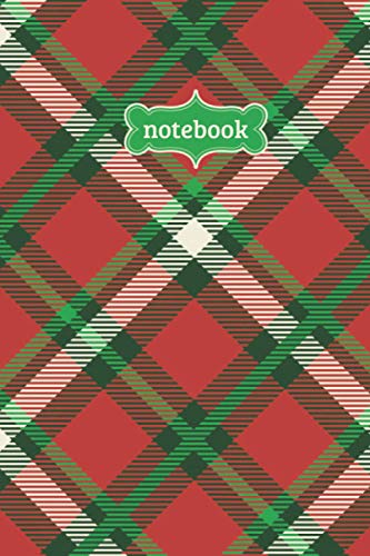 Notebook: Tartan Buffalo Check Plaid Flannel Lumberjack Pattern Journal - Lined Journal & Diary for Writing Taking Notes (6