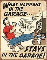 シェーンベルク-ガレージメタルで起こるティンサイン