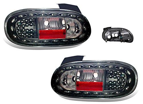 SPPC Led Taillights Black For Mazda Miata - (Pair)