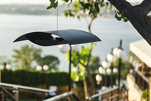 pulverbeschichtetem Stahl modernen dänischen Design Möve Vogelhaus/Vogelfutterhaus hebt den Stil Ihres Garten skandinavischen Design by Morten KRISTOFFERSEN - 3