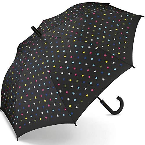 Esprit Regenschirm Joyful Stars - Stockschirm mit Automatik
