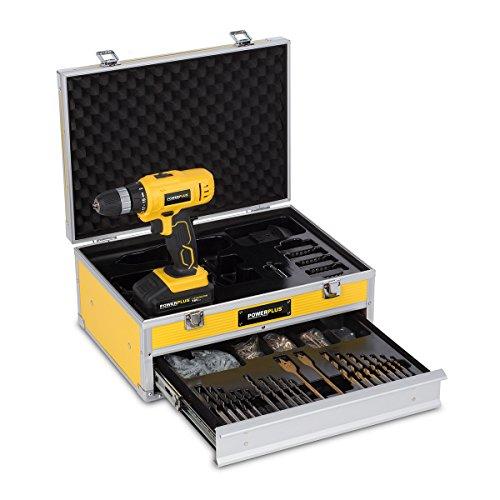 POWERPLUS POWX0026LI - Taladro/atornillador 18v litio 2batt