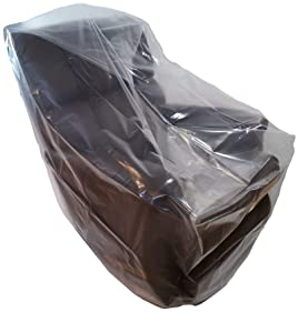 Wowfit Furniture Cover – Dust-Proof Moving Bag for Chairs, Recliners, Moving Boxes – Clear & Odorless Plastic Bag for...