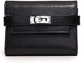 Locking strap ladies wallet ladies money black