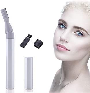 Portable Electric Eyebrow Hair Trimmer - TANKE Face Hair Razor Personal Hair Epilator for Women, Waterproof Painless Body Bikini Hair Remover Shaver Facial Exfoliator