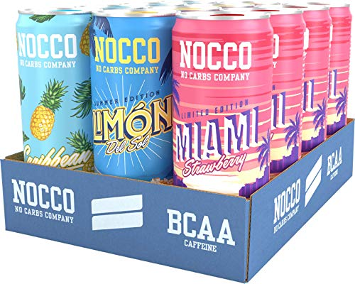 NOCCO 12 Pack (Summer Variety Pack)