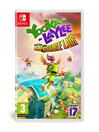 Yooka - Laylee And The Impossible Lair - Nintendo Switch [Importación italiana]