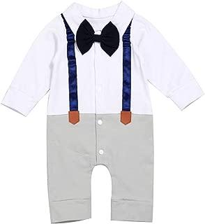 Best baby boy onesie with suspenders Reviews