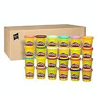 Include 24 vasetti di pasta da modellare Play-Doh Include 24 colori diversi Confezione adatatta per le feste