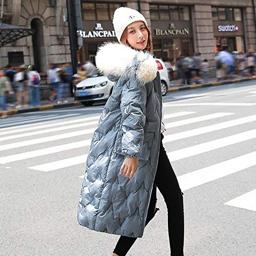 WFSDKN dames parka winterjas vrouwen dikke warme capuchon Parka Mujer katoen borduurwerk mantel lange hak plus maat 2XL dunne jas vrouwelijk