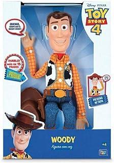 comprar comparacion Toy Story - Figura de Woody, articulada con voz en español (Bizak 61234071), Modelos/Colores aleatorios, 1 pieza , color/m...