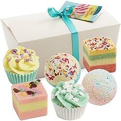 "6er Set BRUBAKER Cosmetics Badepralinen""Sweets For My Sweet"" handgemacht und vegan"