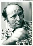 Harold Robbins - Vintage Press Photo