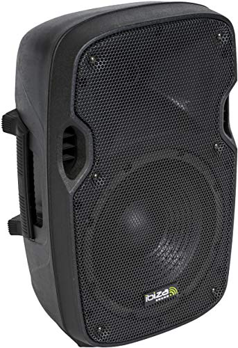 "Ibiza - XTK8A - Bafles de Sonido con ABS Activo, 8"" / 200 W, Color Negro"