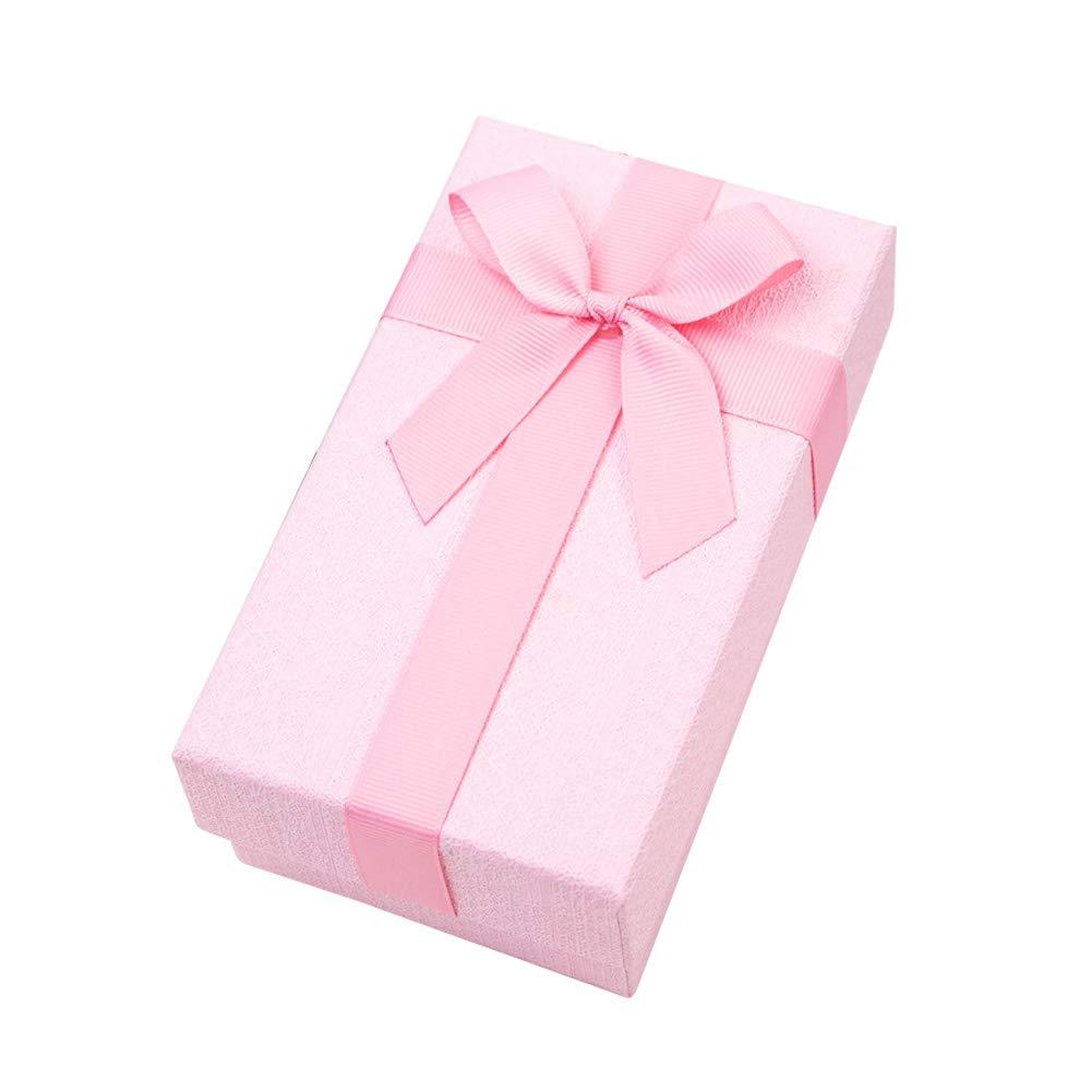 WDOIT - Caja de cartón con tapa rectangular para regalo: Amazon.es: Bricolaje y herramientas
