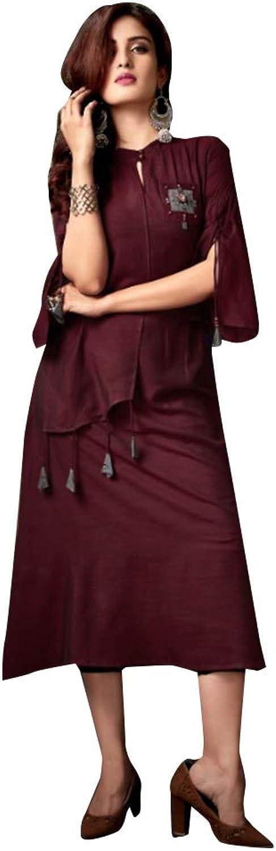 Fashionable Designer Evening Cocktail Silk Slub Short Dress Indian Maxi Kurti style Women Party wear Bespoke 7910 4