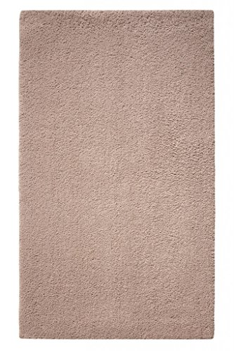 Tapis de bain antidérapant taupe Natural Remedy Esprit Home
