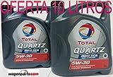 Total ** Gran Oferta * 2X Aceite de Motor Quartz INEO ECS 5W30 10 litros (2x5 LTS)