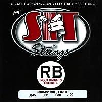 SIT STRINGS エスアイティストリングス ベース弦 Rock Brights Light NRB45100L【国内正規品】