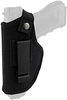 depring Concealed Carryホルスター右と左のCarry内側や外側のウエストバンドHand Draw Fits Subcompact to large Handguns