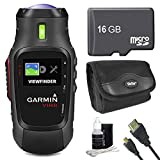 Garmin Virb Action Camera 010-01088-00 Essentials Bundle with 16GB Micro SD Card, HDMI Cable, All in...