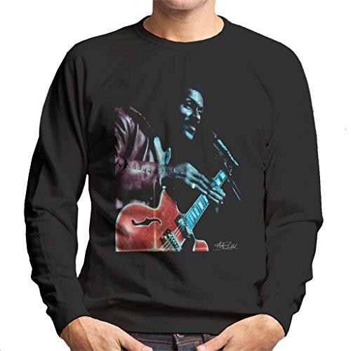 Martyn Goddard Official Photography - Chuck Berry Hammersmith Odeon 1974 Men's Sweatshirt
