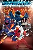 1art1 58675 Sesamstraße - Monsters Of Rock Poster, 91 x 61