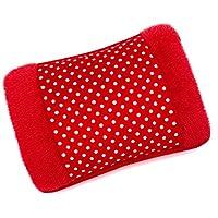 MovilCom® Bolsa de Agua Caliente Eléctrica   caliente en sólo 15 minutos   Calientamanos   Dolor muscular, espalda, menstrual (Mod.47)