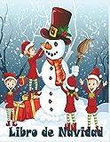 Libro de Navidad: Libro de colorear de Navidad para niños |50 divertidas imágenes para colorear divertidas