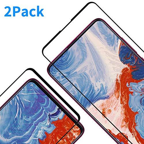Protector Pantalla para Xiaomi Mi 9T/9T Pro, [2 Piezas] Cristal Templado para Xiaomi Mi 9T/9T Pro, [3D Cobertura Completa] [9H Dureza] [Resistente a Arañazos] Vidrio Templado para Mi 9T/9T Pro