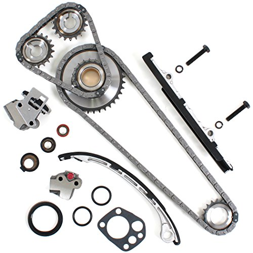 TK10050 Brand New Timing Chain Kit Compatible with 98-01 Nissan Altima 2.4L DOHC KA24DE Engine 98-04 Frontier / 01-04 Xterra