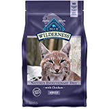Blue Buffalo Wilderness High Protein Grain Free Natural Adult Dry Cat Food, Chicken 6-lb