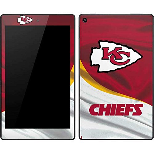 Skinit Decal Tablet Skin Compatible with Kindle Fire HD 8 - Officially Licensed NFL Kansas City Chiefs Design