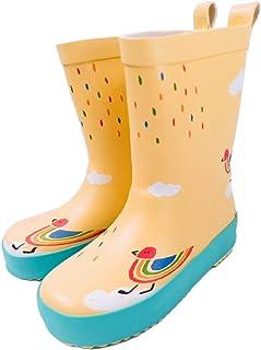 [Smart-Bear] T303 キッズ レインブーツ レインシューズ 子供用 長靴 男の子 女の子 雨靴 ゴム長靴 滑り止め 通園・通学・アウトドア遊び用 完全防水 雪遊び 滑りにくい 梅雨対策