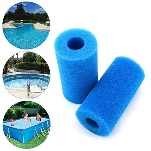 2ST Pool Filter Wiederverwendbare Waschbar Foam Hot Tub Filtereinsatz for Typ A zcaqtajro