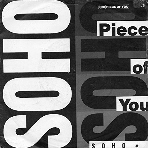 PIECE OF YOU 7' (45) UK HEDD 1988 B/W BLONDE ON BLACK (HEDD1) WITH PRO STICKERS ON BACK OF PIC SLEEVE