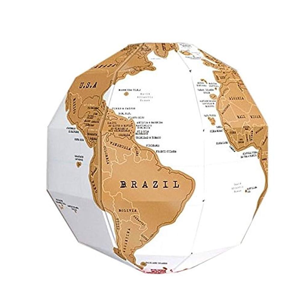 宿泊施設アスペクトトロイの木馬リタプロショップ? 組立式 けずれる 地球儀 スクラッ地図 組み立て式 インテリア 世界地図