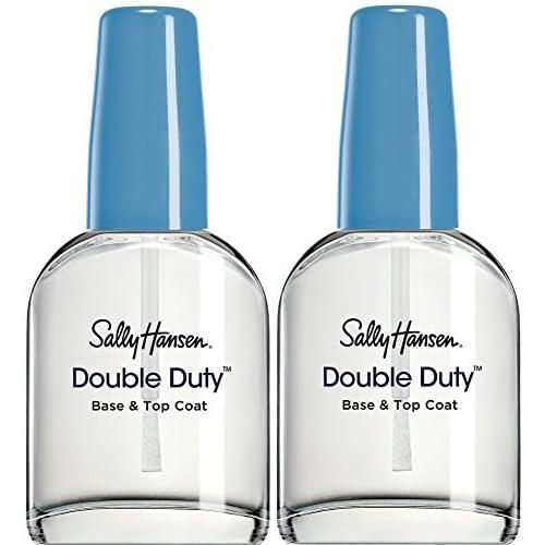 Sally Hansen Double Duty base & Top Coat, confezione da 2 (2 x 13.3 ml)